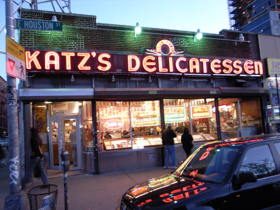 KATZ Deli - Where Harry Met Sally