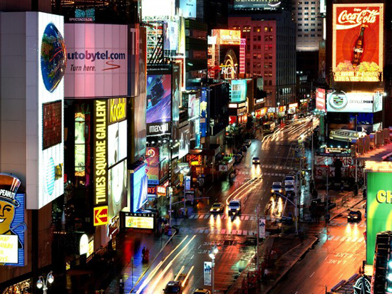 Times Square at Night - NYC