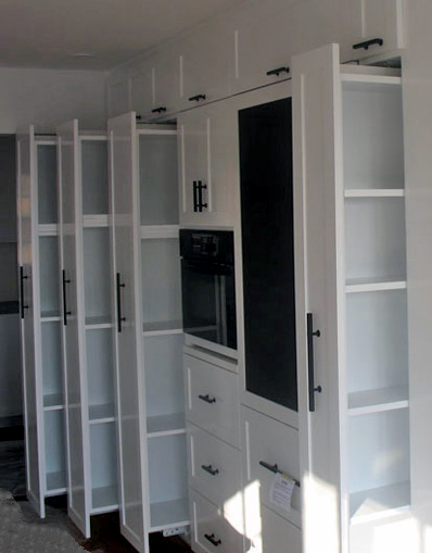 Multi-purposing Pantry Pull-outs