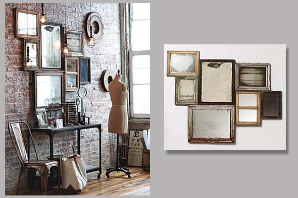 Antiqued Mirrors: A Now WOW  Sheila Zeller Interiors