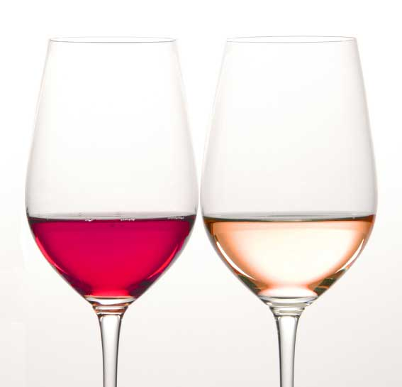A Little Burst of Blush: Rosé Wine Decor