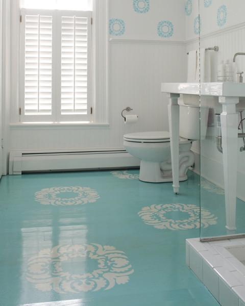 Patterned Floors Painted Stencilled To Perfection Sheila Zeller