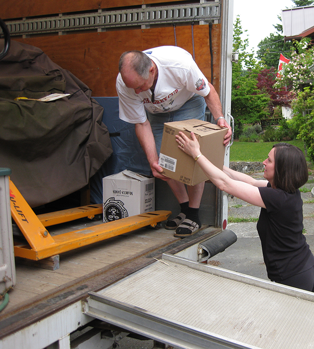 Packing the Cube Van: Blueprint in Action!