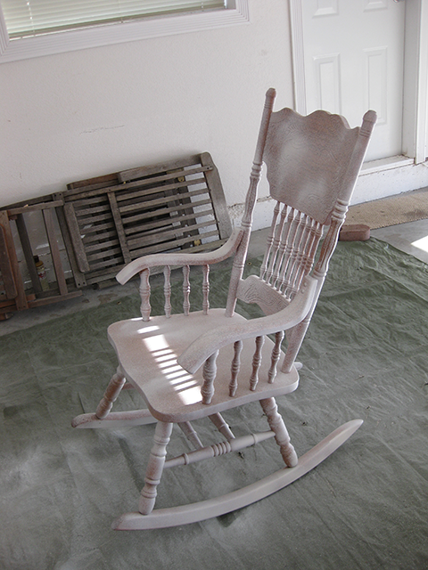 Summer Pinterest Challenge: My Rocking Chair