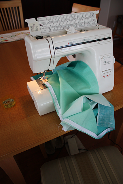 DIY: Sewing Up A Sea of Turquoise