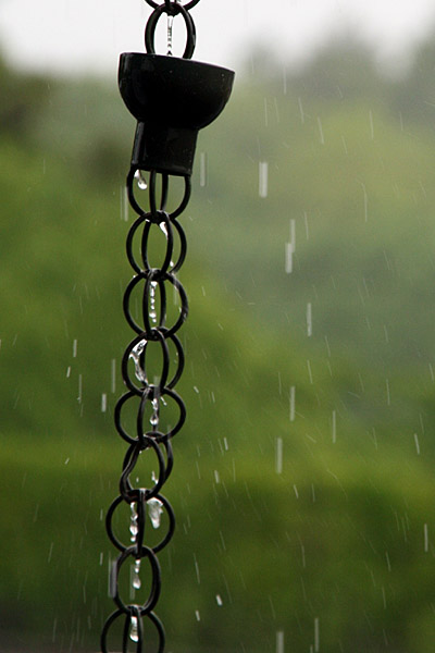 Rain Chains… More than Just Curb Appeal