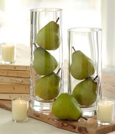 Fresh pears for fall flair sheila zeller interiors Pear home decor