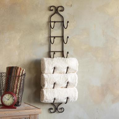 A Rub Down On Towel Storage Sheila Zeller Interiors