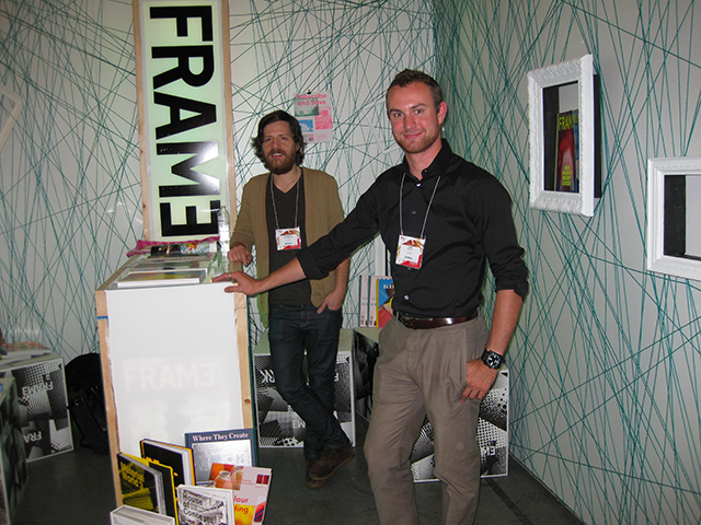 IDSwest: FRAME Magazine Booth