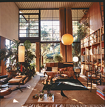 the eames black house bird sheila zeller interiors