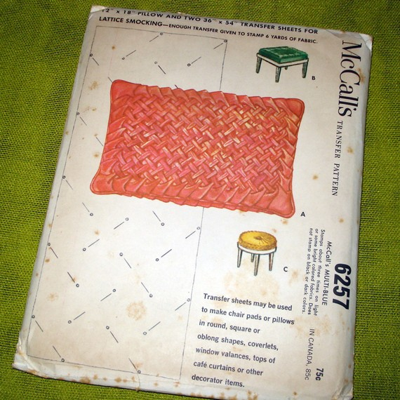 Smocked Pillow Patterns Sheila Zeller Interiors