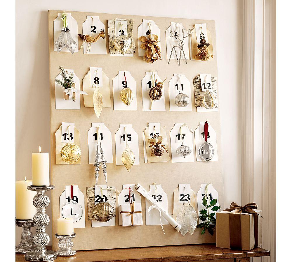 Diy Advent Calendar : Diy advent calendar ideas sheila zeller interiors