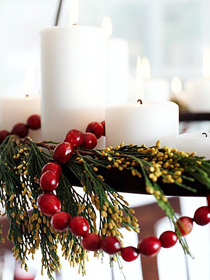 Guest post sheila zeller interiors home bunch interior for Artificial cranberries for decoration