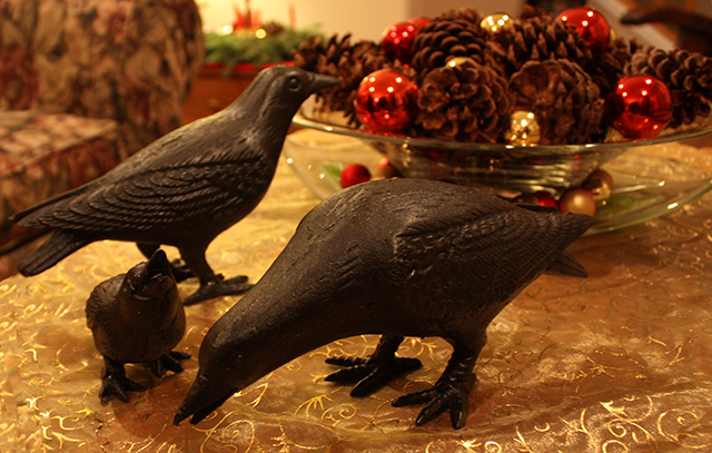 Cast Iron Crows Were A Caw-ling!