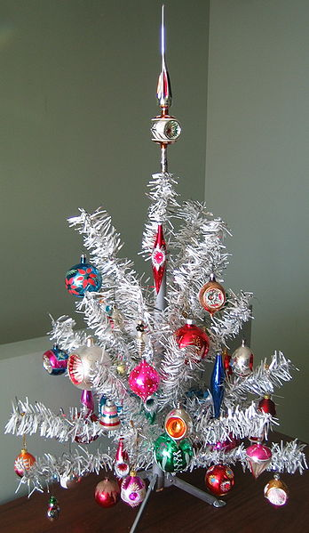 Retro Tinsel Tree Sheila Zeller Interiors