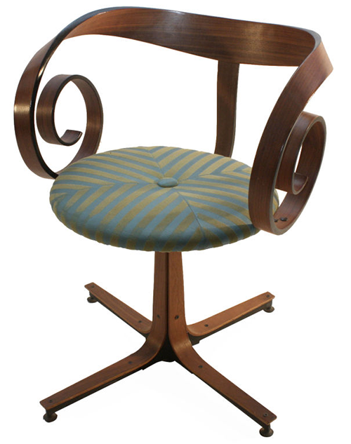 Mulhauser Bentwood Chair | Sheila Zeller Interiors