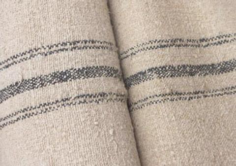 Vintage European Grain Sacks. Source: The Textile Trunk