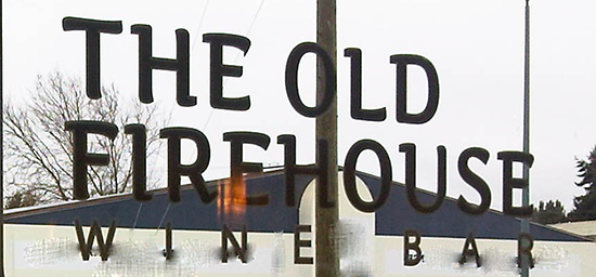 The Old Firehouse Wine Bar: Do Tell!
