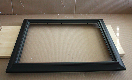 Black 16&quot; x 20&quot; Frame for DIY Makeover