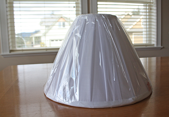 White Cotton Lamp Shade