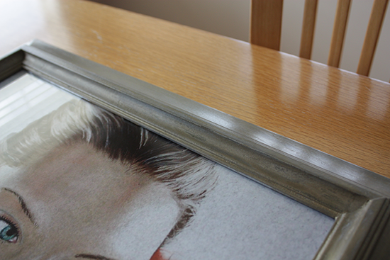 DIY Frame Makeover - After - Finished with Annie Sloan Clear Wax