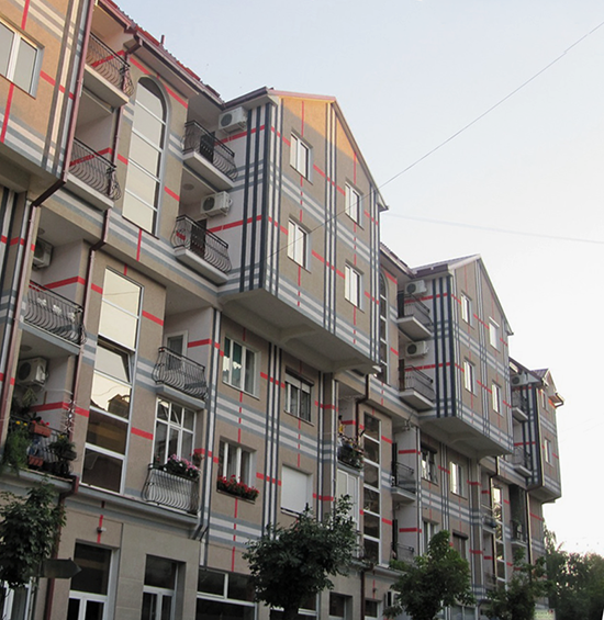 Burberry Plaid on Buildings