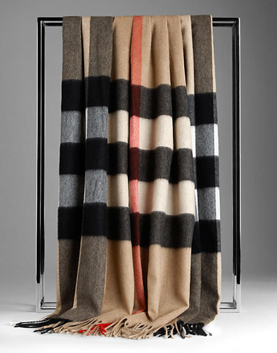 Burberry Plaid Blanket