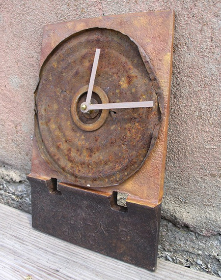 Repurposed Rusty Clock