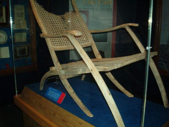 John Moore Deck Chair - Titanic Exhibit
