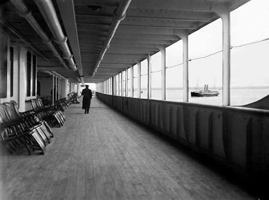 John Moore Deck Chairs on Titanic