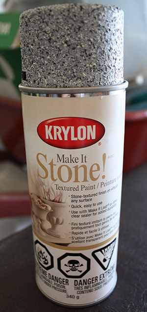 Krylon Make It Stone Spraypaint