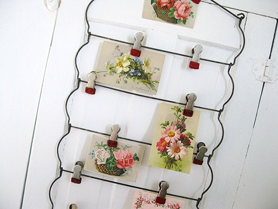 Postcards on Multi-Skirt Hanger