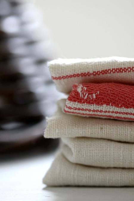 Vintage Linen Tea Towels Sheila Zeller Interiors
