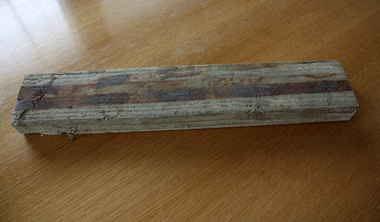 Weathered 2x4 Wood Scrap