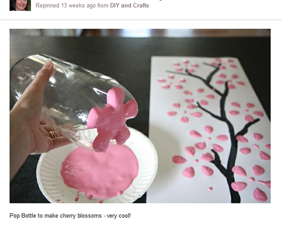 Pinterest Inspiration - Cherry Blossom Art