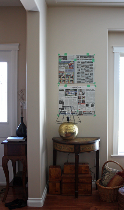 Tip to hang multiple pieces of art