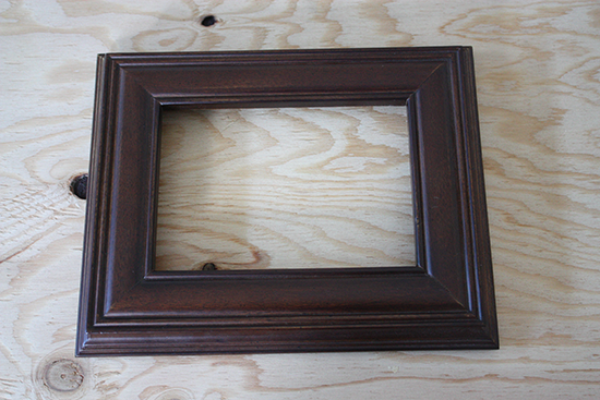 Dark Brown Photo Frame