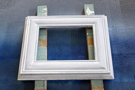 Primed Photo Frame for Painting