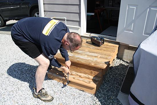 Repairing a Porch