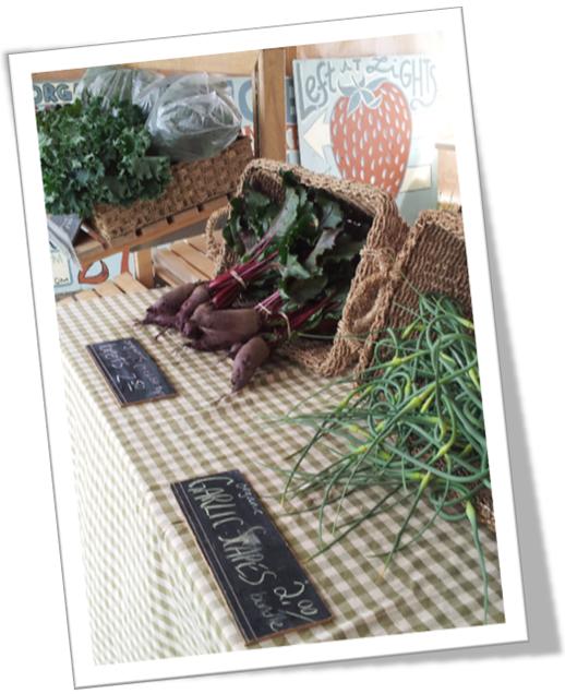 Organic Produce Makaria Farm Market