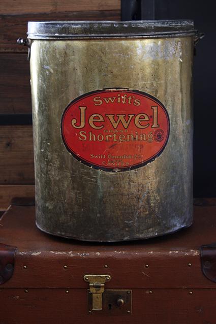Swift's Jewel Brand Shortening Bin - Swift Canadian Co Limited