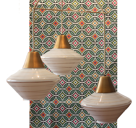 Moving On: A Set of MCM Light Fixtures