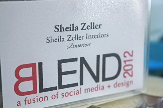 Blend 2012 and Giving Thanks…