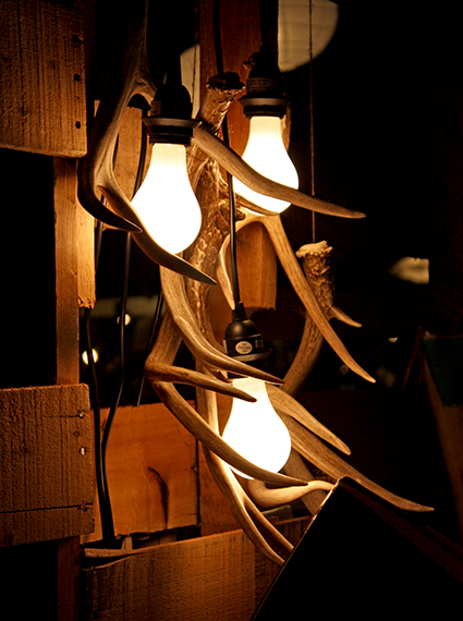 Identity Apparel - Antler Light Fixture