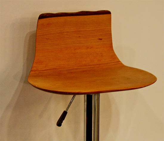 Matthieu LeBlanc Douglas Fir Bar Stool