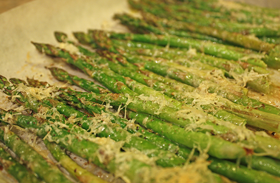 Save the Day with Baked Parmesan Asparagus