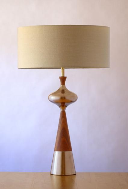 Danish Modern MCM Lamp c1950s - eBay