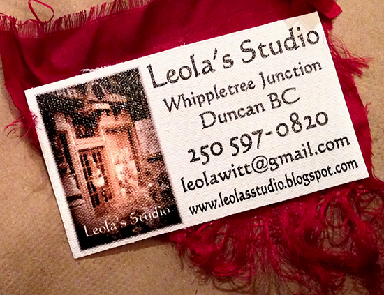 Leola's Studio - Cowichan Valley