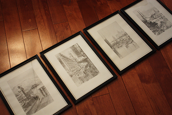 Pencil Drawings of Vancouver, BC