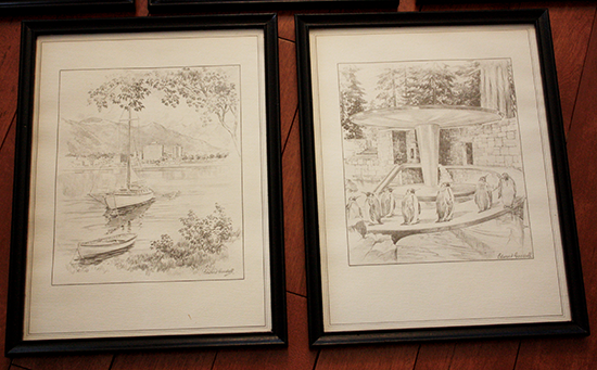 Pencil Drawings, Vancouver, BC